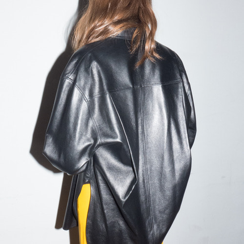 OVERSIZE LEATHER SHIRTS