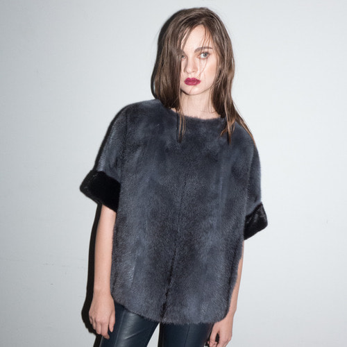 RUMI BLOUSE_CHARCOAL