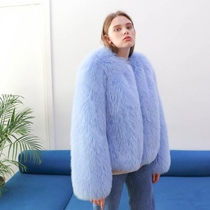 FOX SHORT JACKET_SKY BLUE