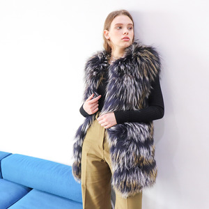 [40% SALE] DYED NATURAL FOX VEST